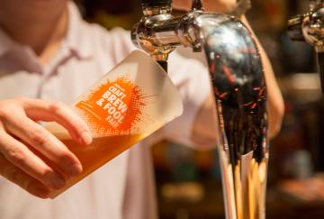 Beer Pouring Alltech Craft Brews and Food Fair